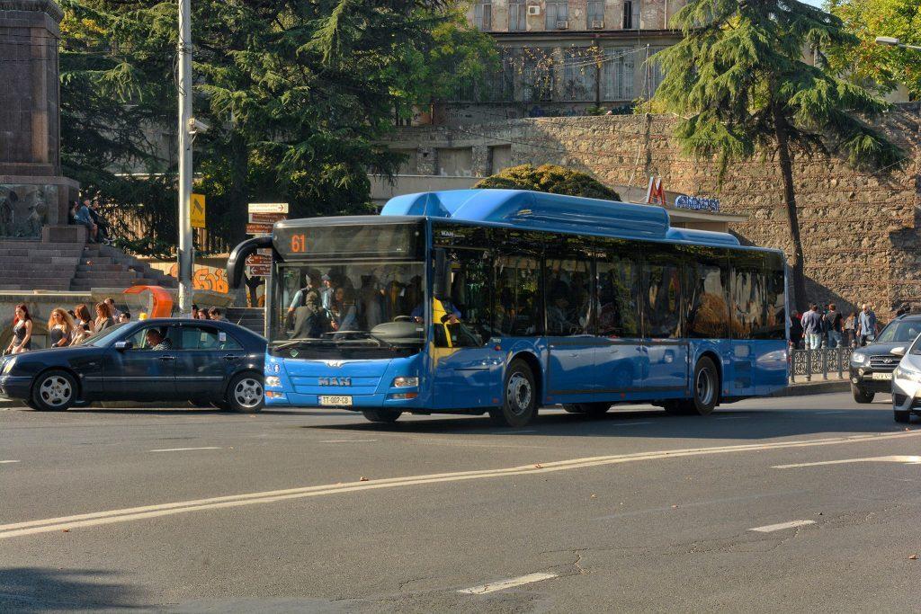 اتوبوس شهری تفلیس