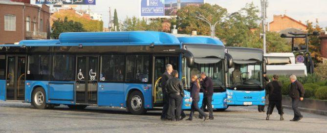حمل و نقل عمومی در گرجستان