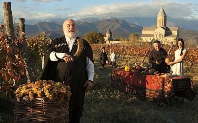 شیوههای سنتی تولید شراب در گرجستان