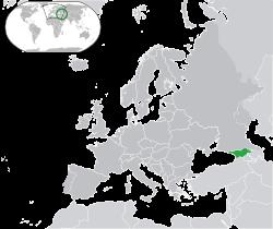 موقعیت جغرافیایی و زیستی و جمعیت شناسی گرجستان