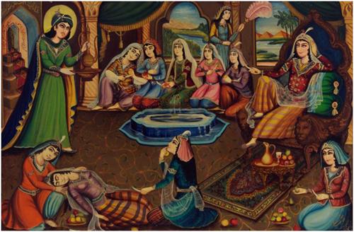 پژوهش درباره نقاشیهای قاجاری در تفلیس