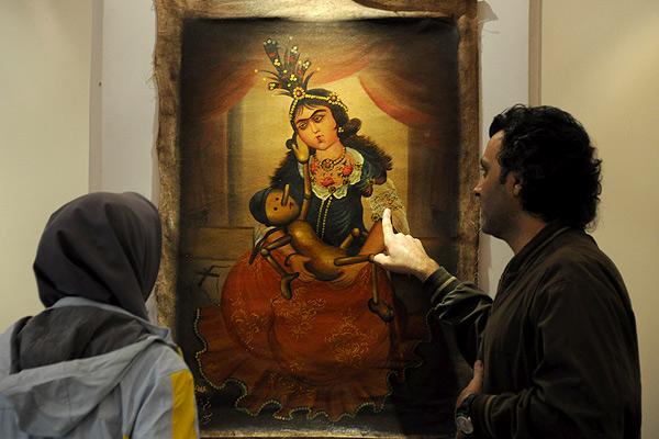نقاشیهای قاجاری چگونه از گرجستان سردرآوردند