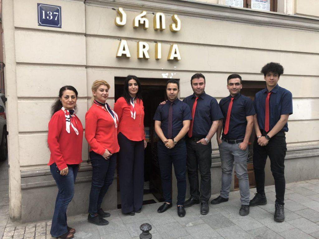 آریا گرجستان - شعبه آقماشانبلی تفلیس