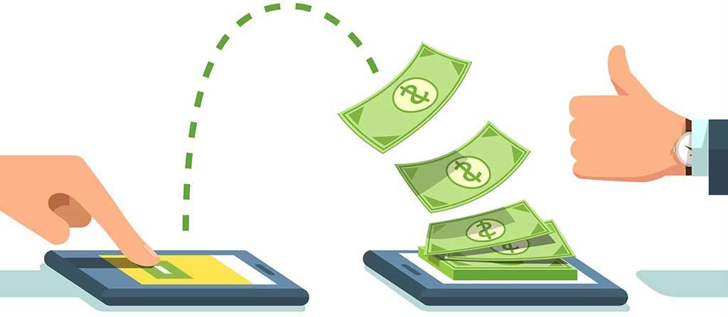 جابجائی پول و خدمات مالی