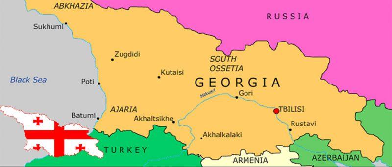 استان های کشور گرجستان